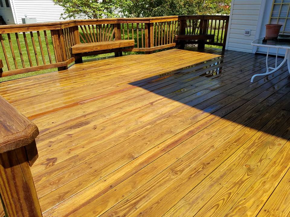 Residential Deck & Fence Cleaning